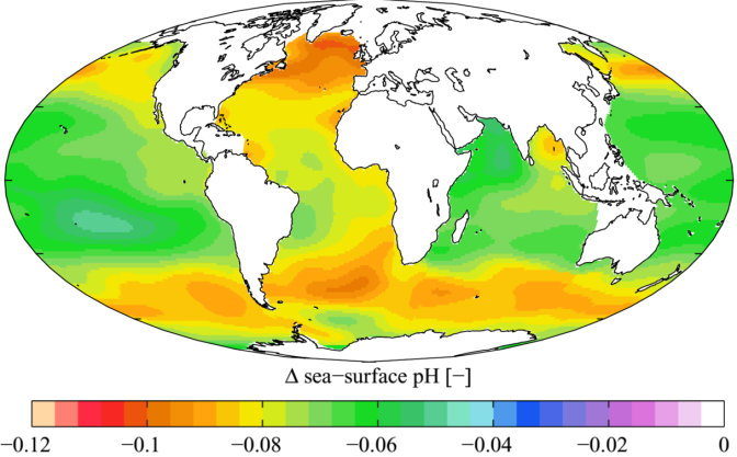 <strong>Increased CO2 and Ocean Acidification</strong>